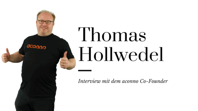 6 Fragen an Thomas Hollwedel – Interview mit dem aconno Co-Founder