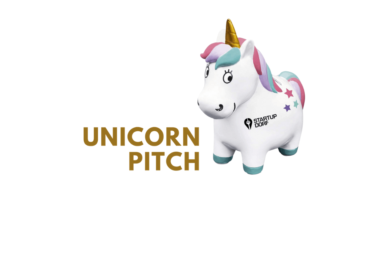 Unicorn Pitch Trophy StartupDorf