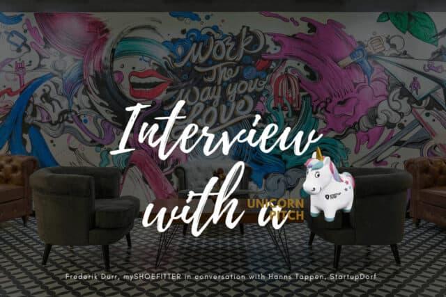 Interview: Unicorn Pitch Winner Frederik Dürr, mySHOEFITTER