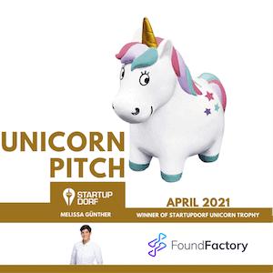 Melissa Günther - Unicorn Pitch Winner April 2021
