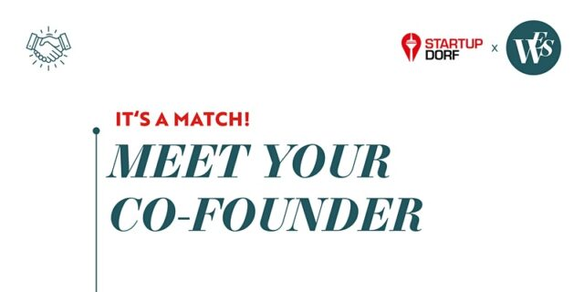 Meet Your Co-Founder – Event Kooperation