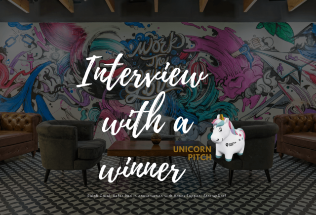 Interview: Unicorn Pitch Winner Ralph Carol, Refur Rad